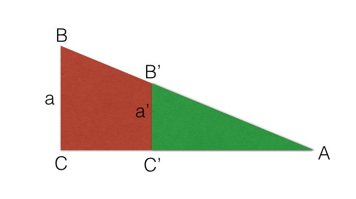 ejemplo teorema de tales