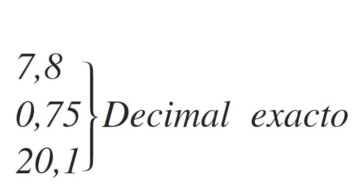 Decimal exacto