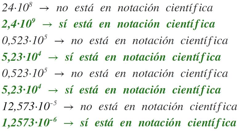 ejemplos de notación científica