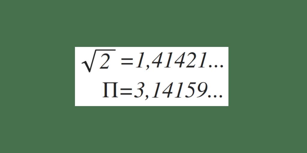 tipos de decimales